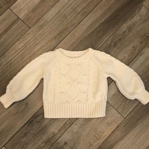 Baby gap sweater size 2T color ivory